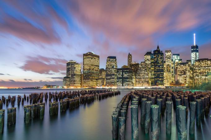 Lower Manhattan at night by philipslotte - New York Photo Contest