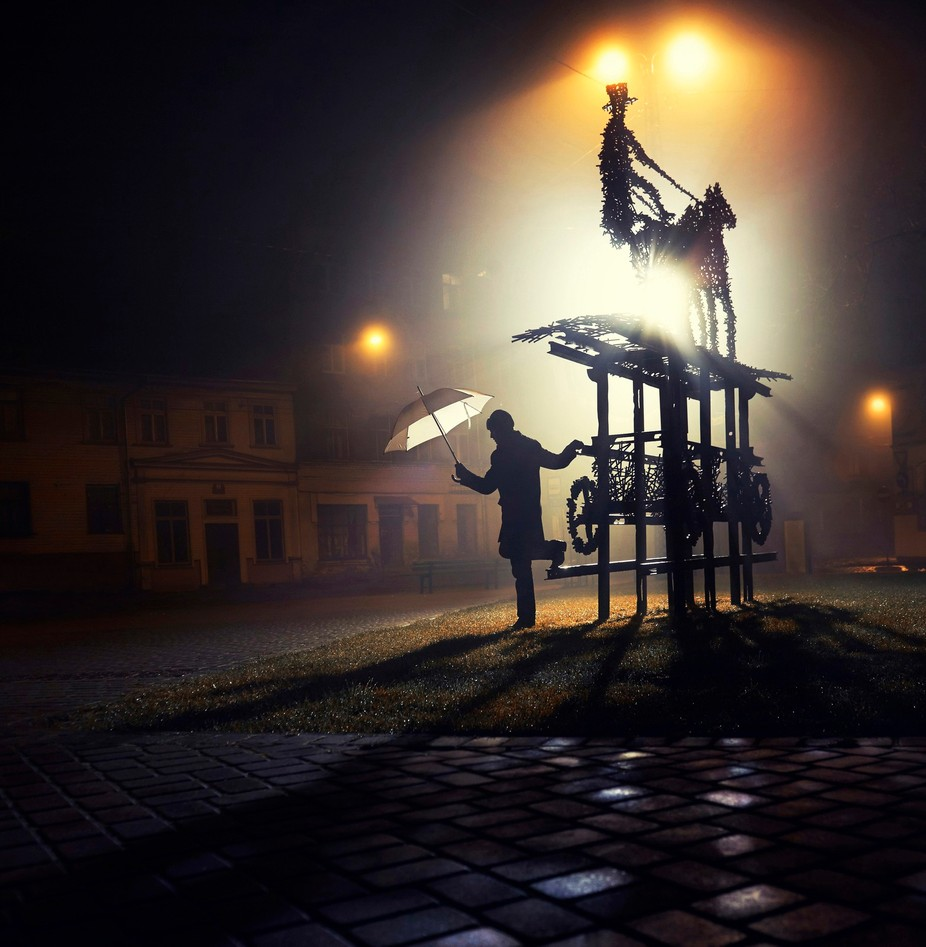 Stranger in the night by jevgenijscolokov - People At Night Photo Contest