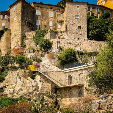 The beautiful hillside village of Ez in southern France.