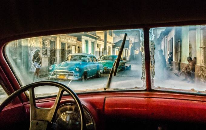 Cuban cars Trinidad Color by willemkuijpers - Creative Travels Photo Contest