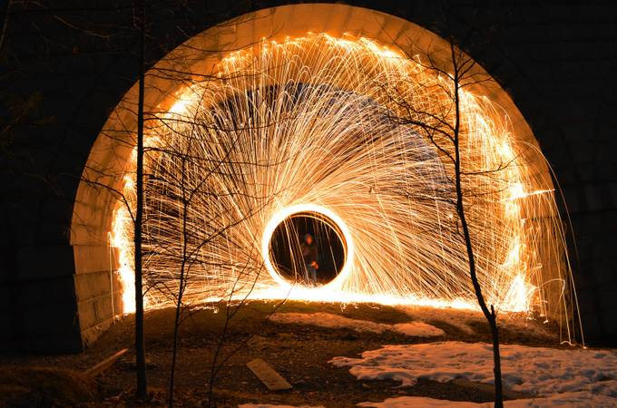 Under the Bridge by tomerkeren - Dark And Bright Photo Contest