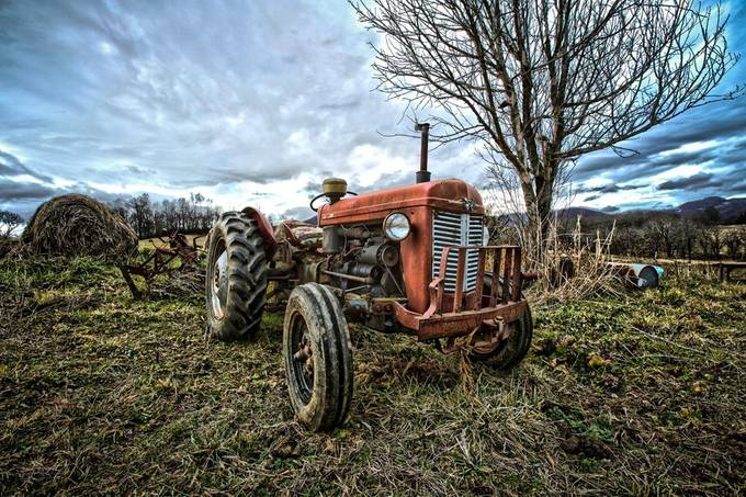 Tractor by TroyWheatley - Farming Photo Contest