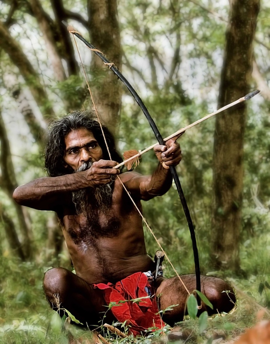 The hunted by RuwanFonseka - Cultures of the World Photo Contest