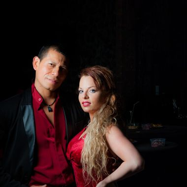 Ricco and Sandy Latin Dance Dancers in Belgium