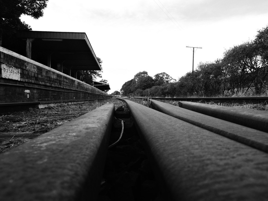 Disused railway station in Lismore Northern Nsw Australia.