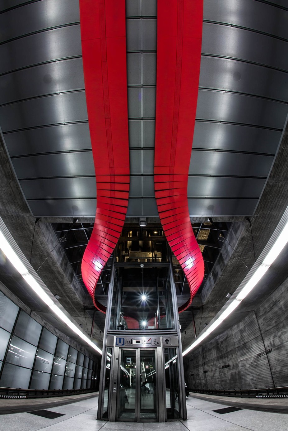 Ziegelstein Station by matayosoixantequatorze - Metro Stations Photo Contest