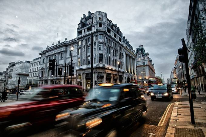 london in motion by jobau_ - Around the World Photo Contest By Discovery