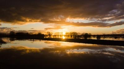 Currymoor sunset