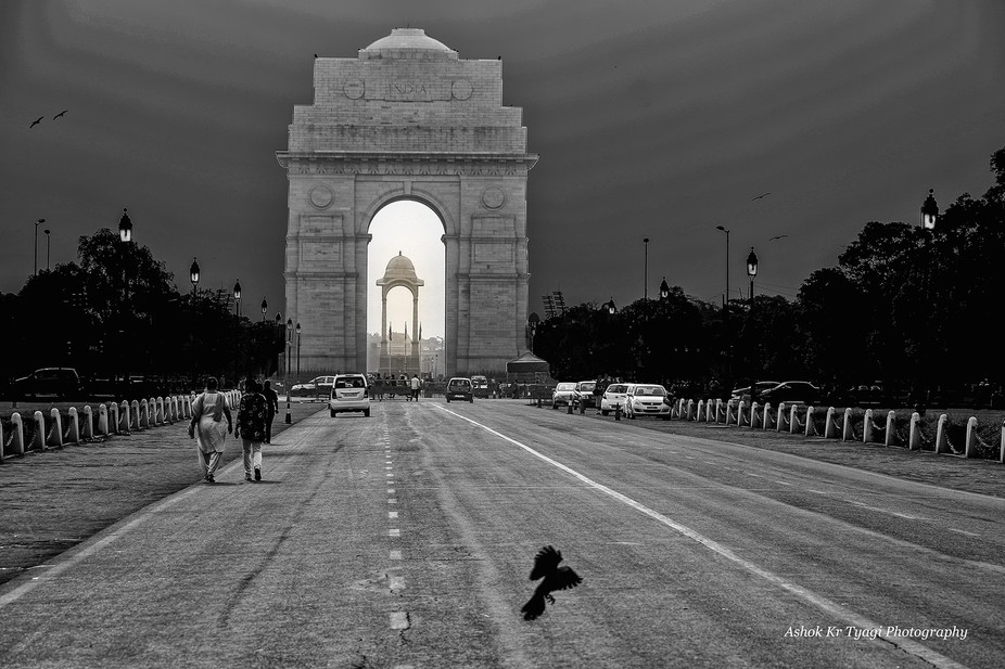 Place l India Gate Delhi May 2015