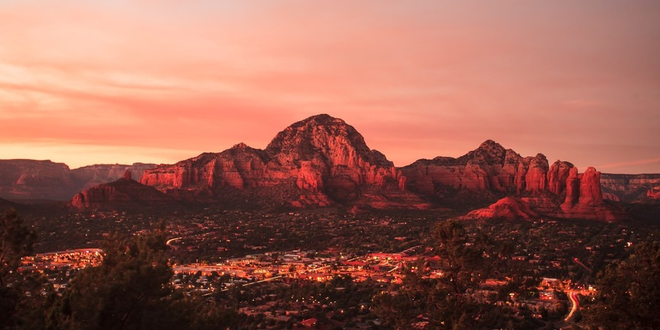 Taken from the Sky Ranch Lodge on Airport Road, Sedona, this is one of my favourite views in the ...
