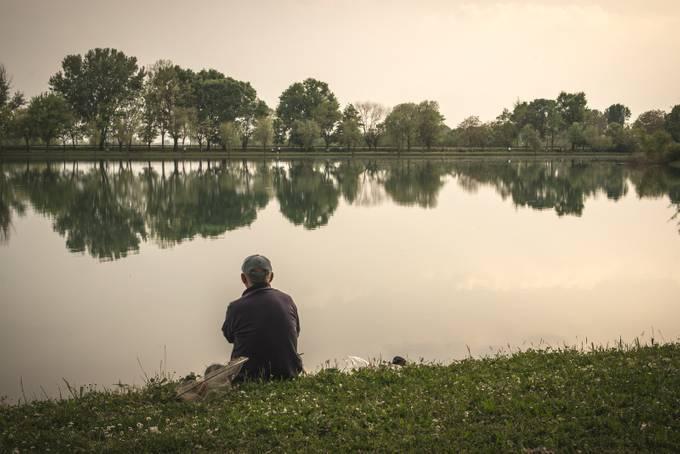 Fishing by maxlaurenzi - Sitting In Nature Photo Contest