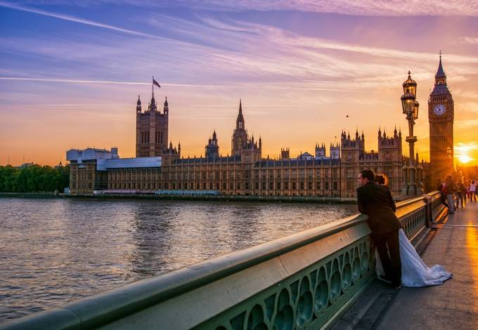 Promises by geminatrix - Sunset In The City Photo Contest