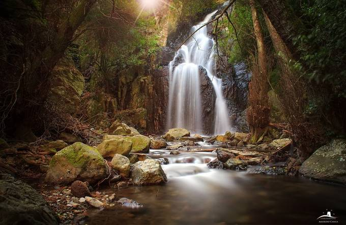 cascate sos molinos by MaurizioCasulaPhoto - Long Exposure Views Photo Contest