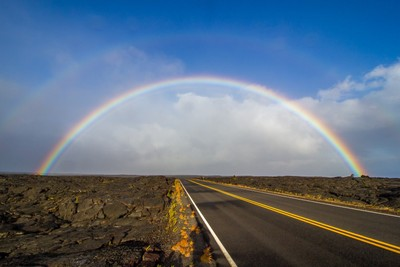 Chain of Crater Road Rainbow