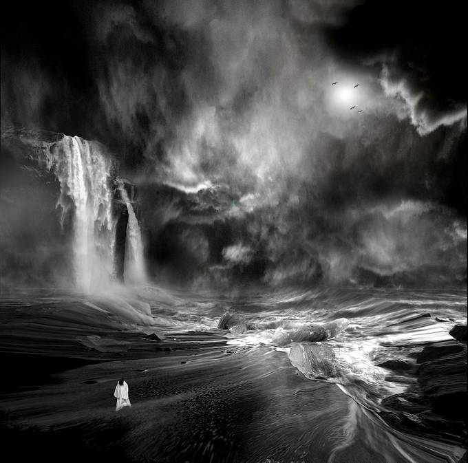 Chris Islande by ANVI - A Black And White World Photo Contest