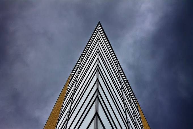 Cutting Edge Architecture by godsbod - Composing with Diagonals Photo Contest