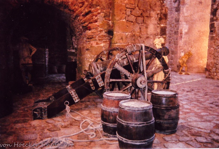 As you wind your way through the many tunnels of Dalt Villa in the Fortress of Old Town, Ibiza Sp...