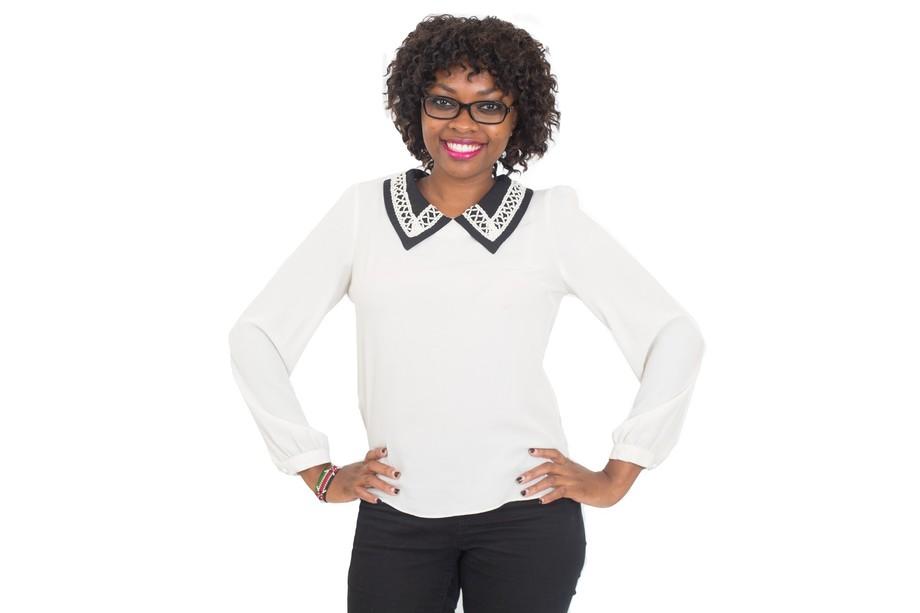 Modern Woman with office wear.