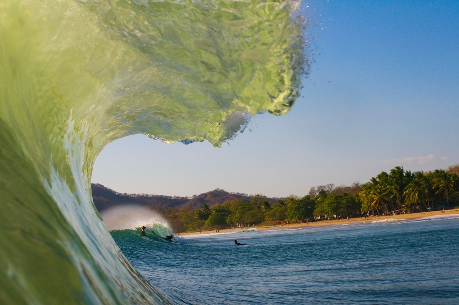 After swimming for 5 hours in the Costa Rican surf I finally managed to snag this gem after sever...