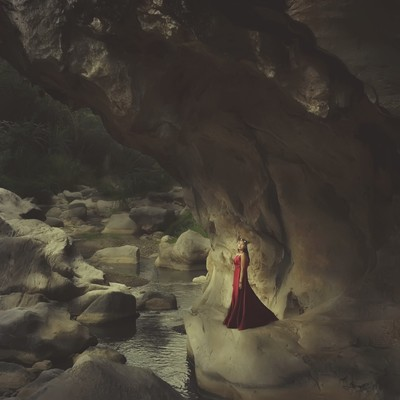Pretty princess red dress has returned