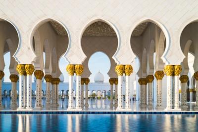Grand Mosque Contrast