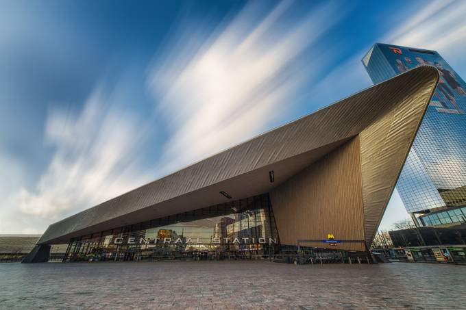 Rotterdam Central Station by albertdros - Public Transport Hubs Photo Contest