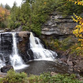 Blackwater Falls in West Virginia.