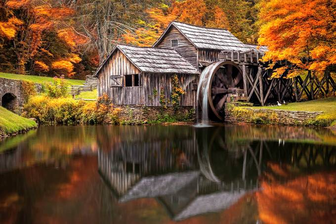 Mabry Mill by Kentoney - Fall 2017 Photo Contest