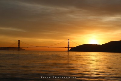 Golden Gate..true to its name