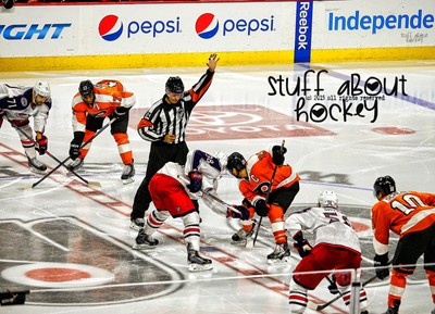 Stuff I Love About Hockey . . .  The Art of The Face Off