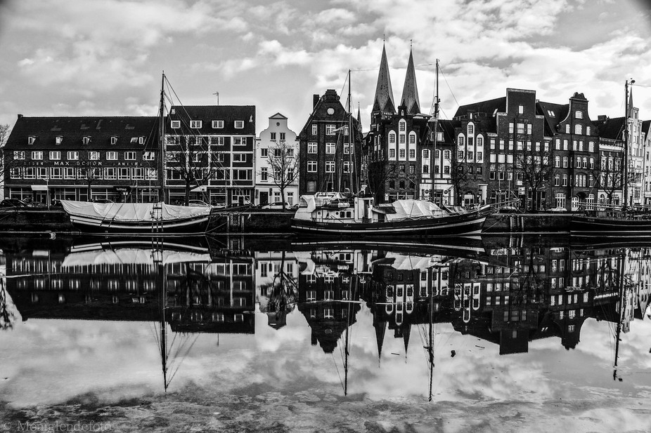 Luebeck in black and with