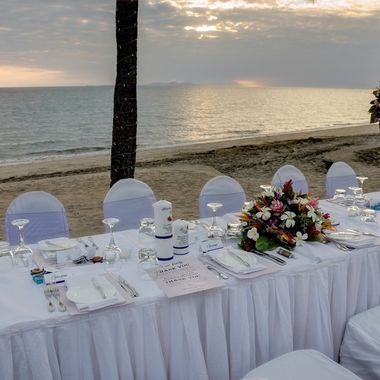 Perfect Setting for a Tropical Wedding Celebration