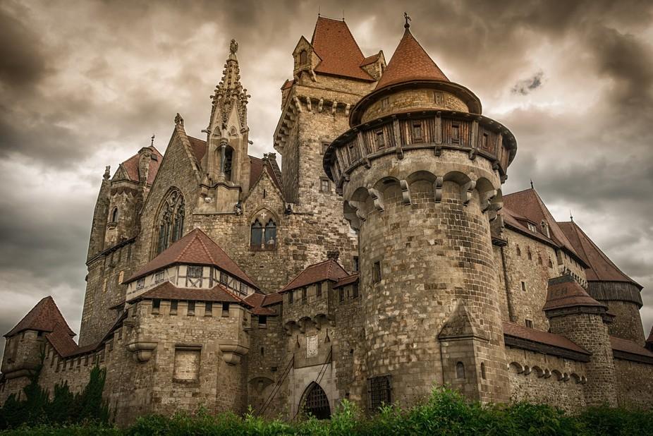 Castle Kreuzenstein, Austria, not far from Vienna.