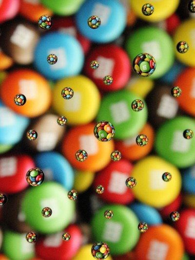 Drops of M&Ms