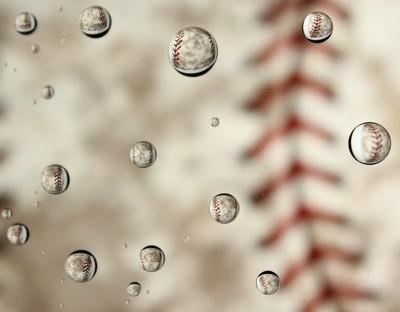 Drops of baseball
