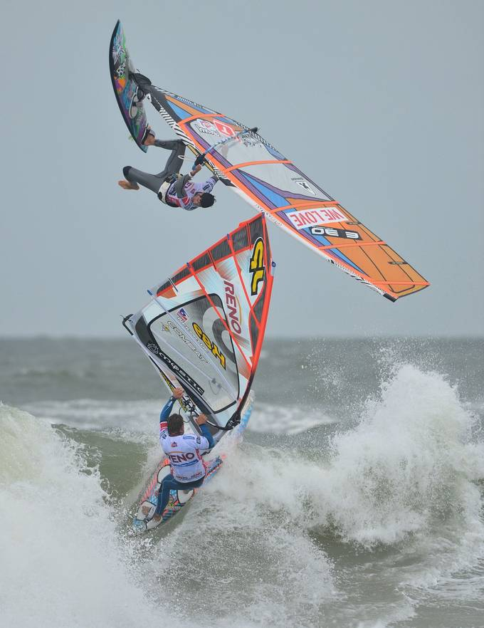 Windsurf-Duel by lmr337 - Healthy Lifestyles Photo Contest