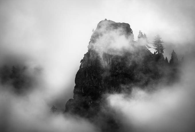 Heirs of Durin by aaronmmoshier - Landscapes In Black And White Photo Contest