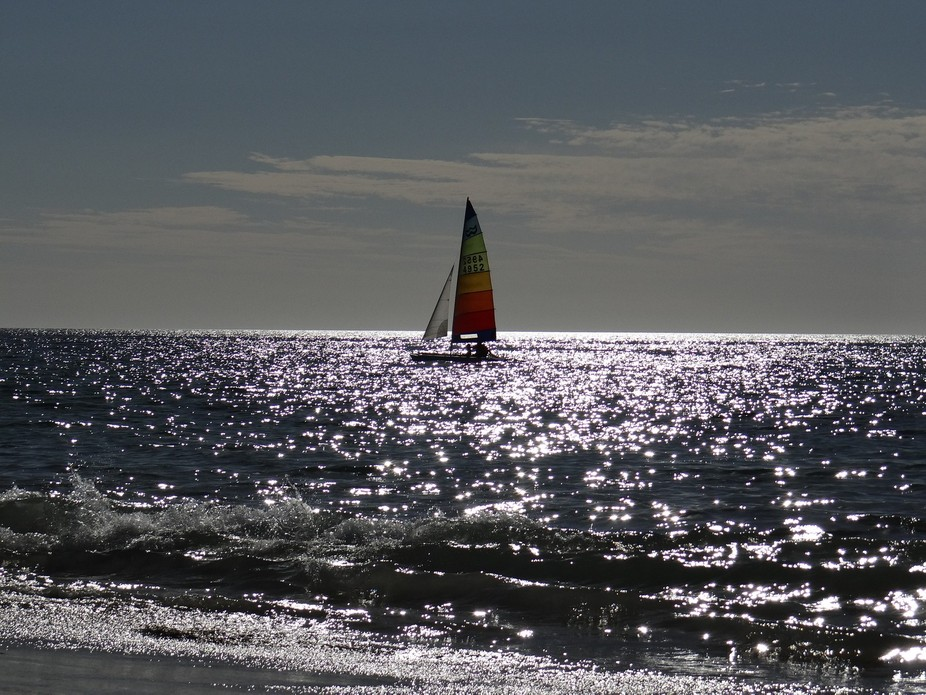 Visiting Normanville Beach on the South Coast of South Australia, I was lucky enough to capture t...