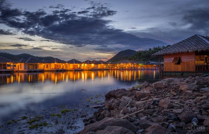 Floating Villas by tonilaird - Light On Water Photo Contest