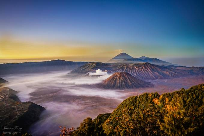 Mount Bromo Sunrise by jeromefang - World Expeditions Photo Contest
