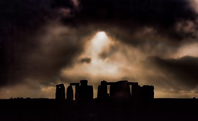 The Gods Looking Down on Stonehenge