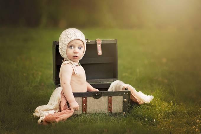 Vintage Baby Boy by amandamariemorse - Babies Are Cute Photo Contest
