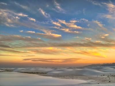 White Sands Skies