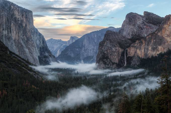 Tunnel View Sunset by wnourse - Our Natural Planet Photo Contest