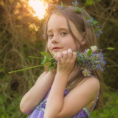 Sylvie with sun flare