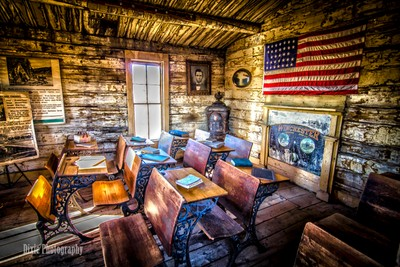 Old School House in HDR