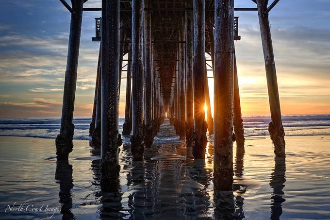 Oceanside Pier by northcoastimages - The View Under The Pier Photo Contest