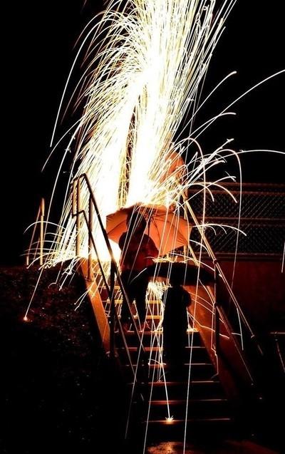 Fire Twirling 3