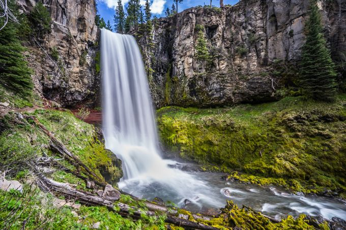 Tumalo Falls - Central Oregon by gappman - The Magic Of Moving Water Photo Contest