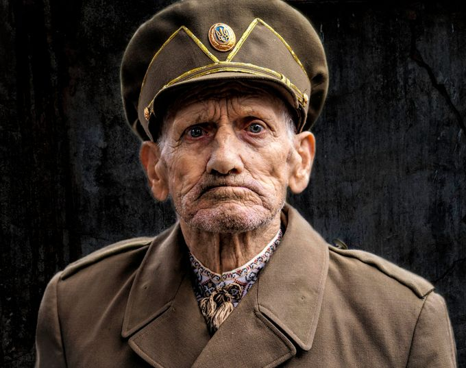 Old Soldier by oksanavashchuk - Male Portraits Photo Contest